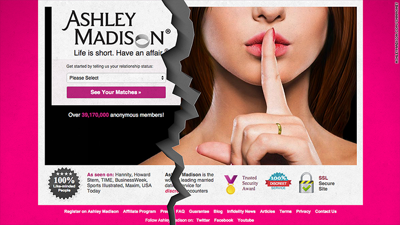 CEO of Ashley Madison parent company resigns