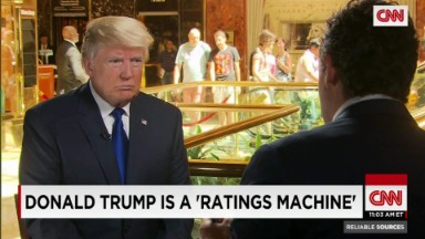 Donald Trump is a 'ratings machine'