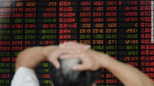 Beijing blamed as markets look for a scapegoat