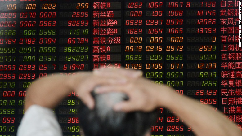Beijing targeted as investors assign blame