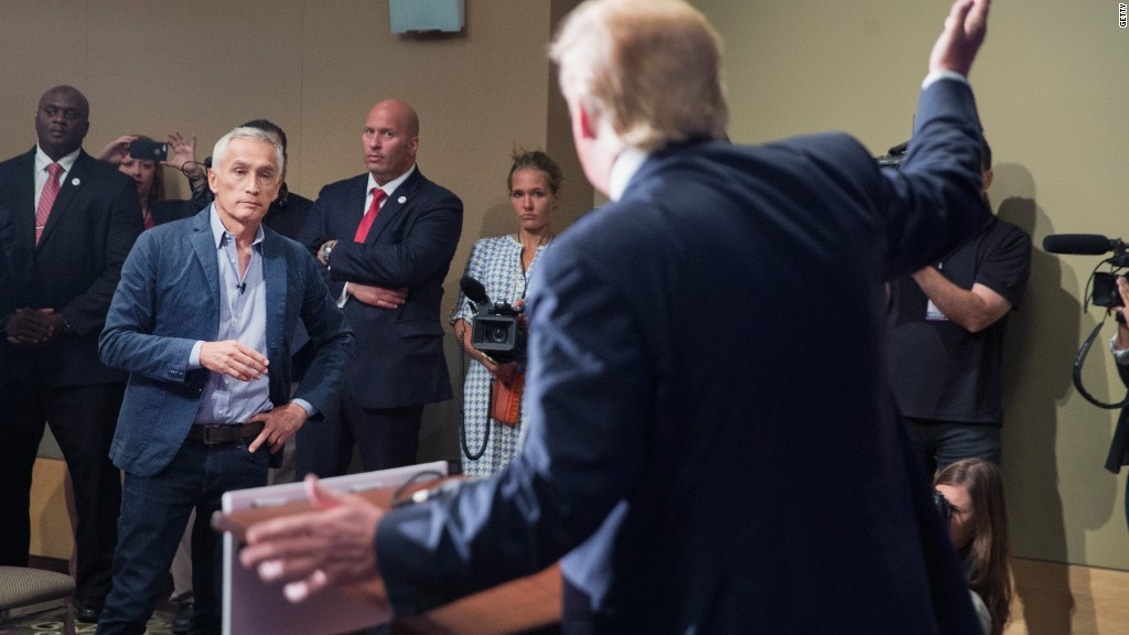 Jorge Ramos: Donald Trump was out of line