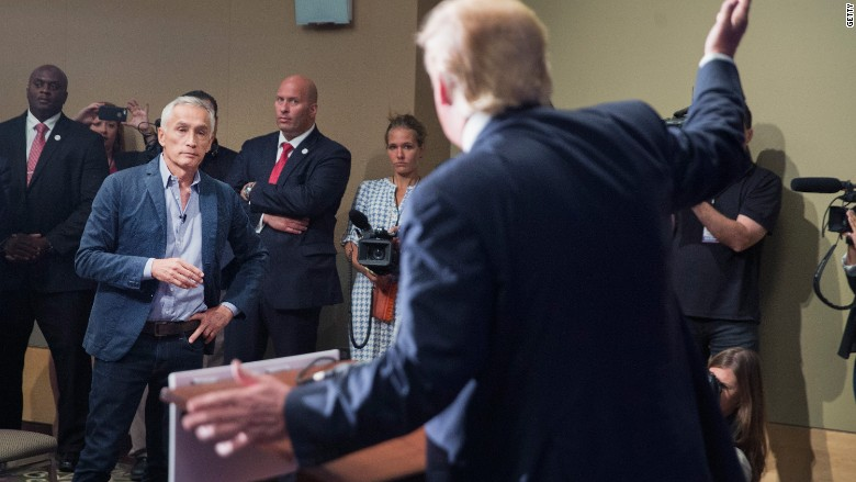 Jorge Ramos Donald Trump Iowa
