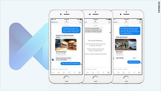 Facebook made its own Siri: Meet M