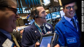 market stocks up nyse
