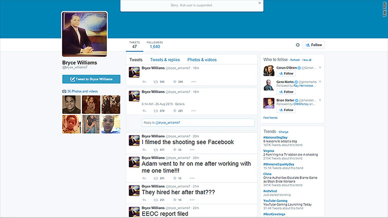 wdbj shooting twitter bryce williams 2