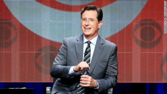 Colbert may go in search of himself on 'Late Show'