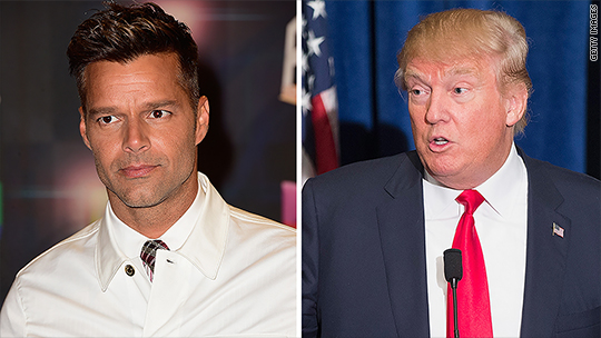 Ricky Martin: Trump 'makes my blood boil'