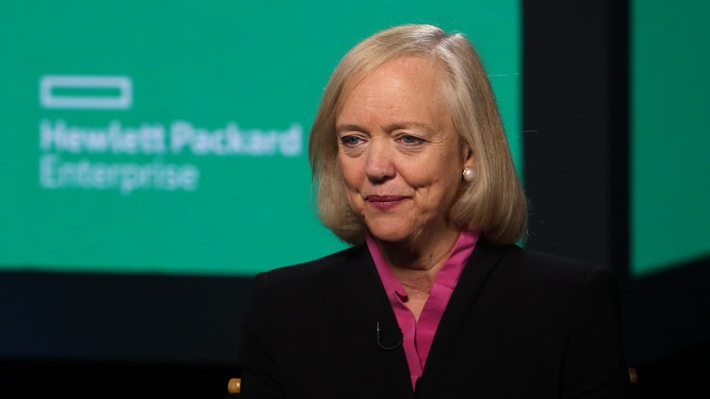 Meg Whitman: The girls run HP