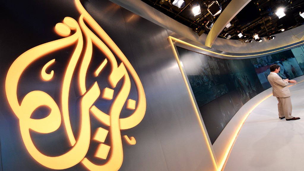 "Al Jazeera: ""We demand press freedom"""