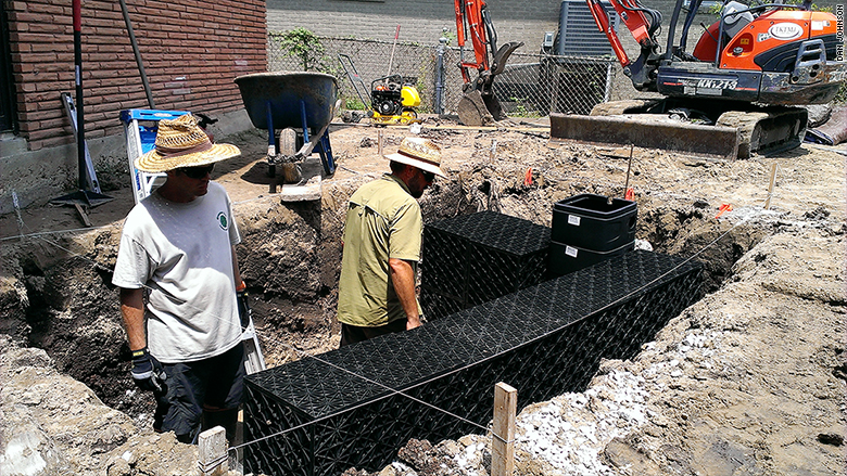 new orleans rainwater tanks
