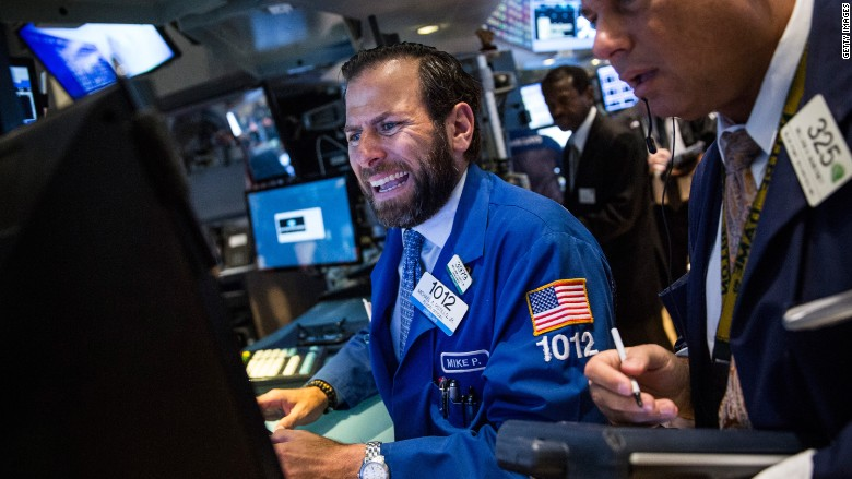 The stock market's wild week in 6 pictures