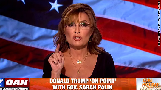 Palin was 'tremendous' as host on Fox competitor
