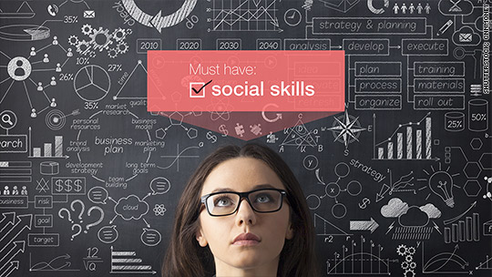 Want a job? Improve your social skills