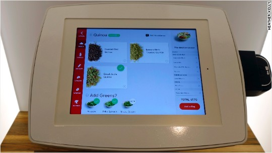 iPads replace cashiers at SF's quinoa restaurant