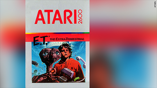 New Mexico city finds buried treasure of Atari games