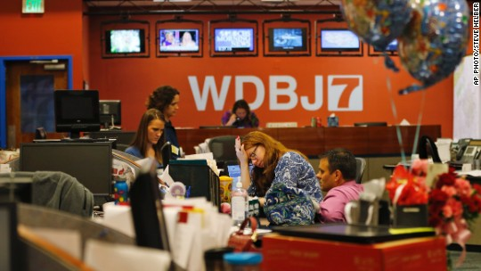 After murders, colleagues rush to side of WDBJ