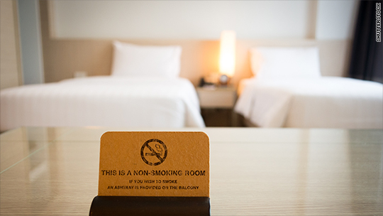 Plan to ban smoking in all New York hotel rooms