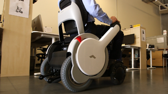 This wheelchair wants to be a Tesla of sidewalks