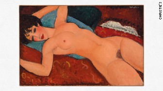 christies modigliani