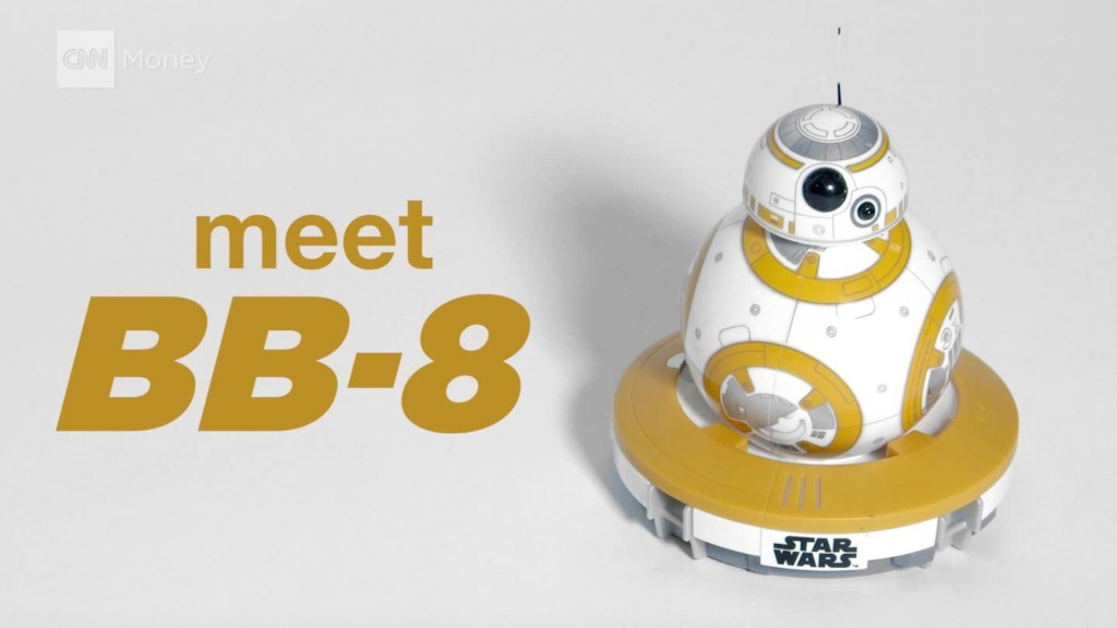 Hands on with Sphero's BB-8 robot.