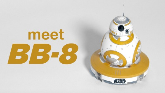 Star Wars' new droid BB-8 is yours
