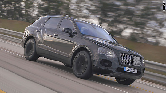 Bentley SUV sets a speed record