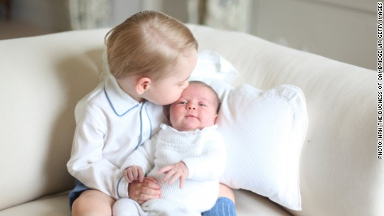 Princess Charlotte: Worth $5 billion after four months