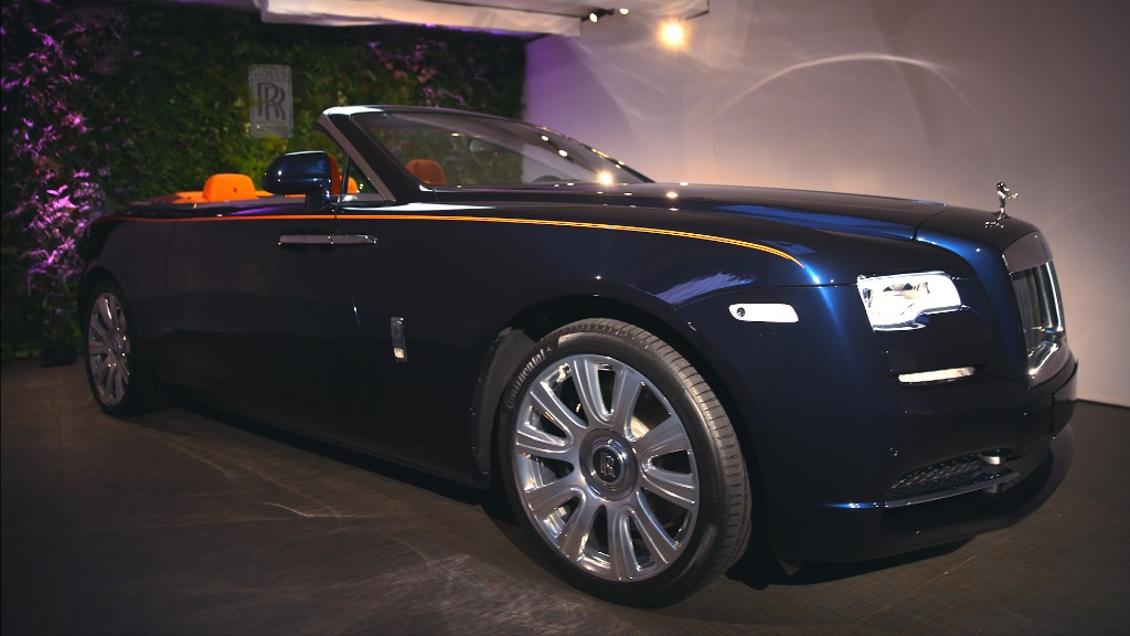 Meet the Dawn, Rolls-Royce's sexy new convertible