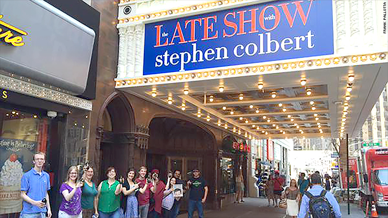 the late show sign