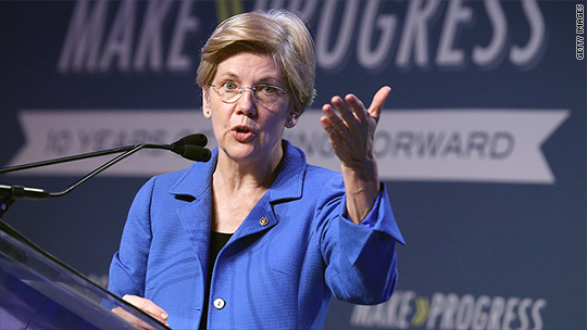 Elizabeth Warren tells grads with loads of debt: Agitate!