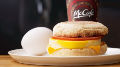 McDonald's promises cage-free eggs in 10 Years