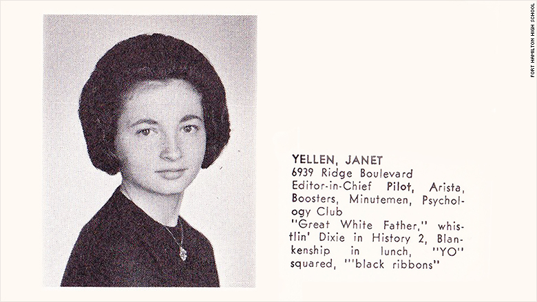 Yellen high school photo