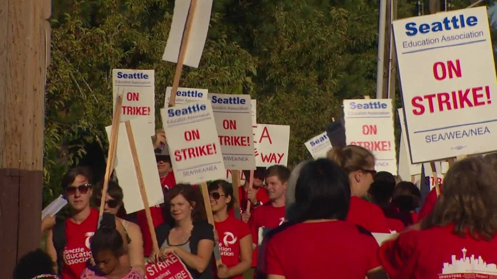 Seattle teacher strike keeps schools closed