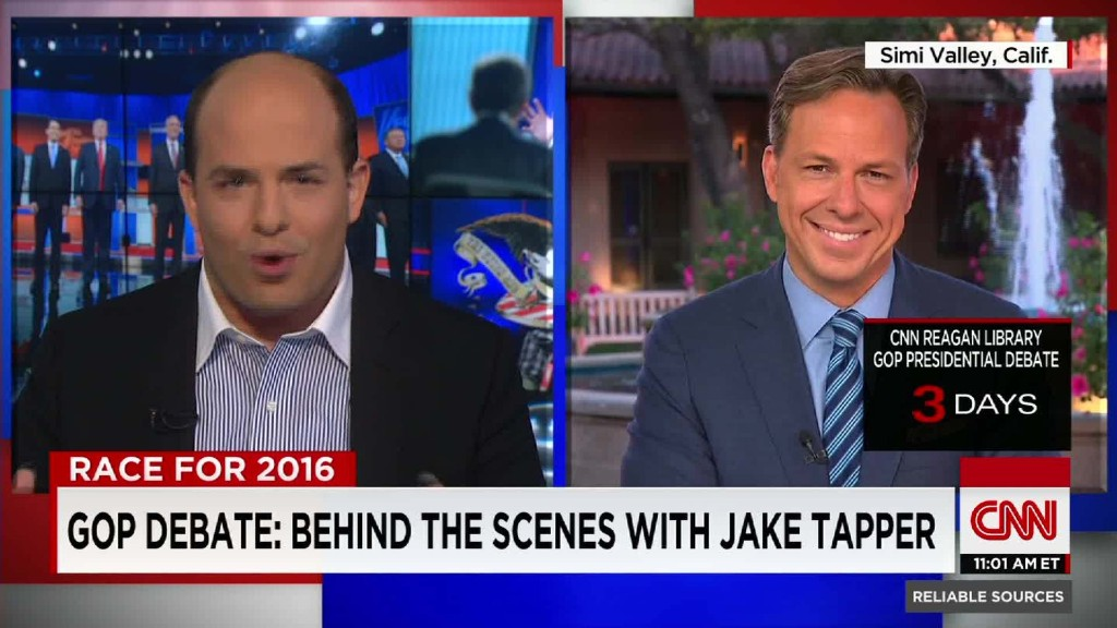 GOP Debate: Behind the scenes with Jake Tapper