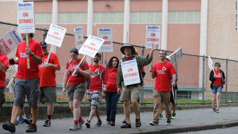 seattle teacher strike