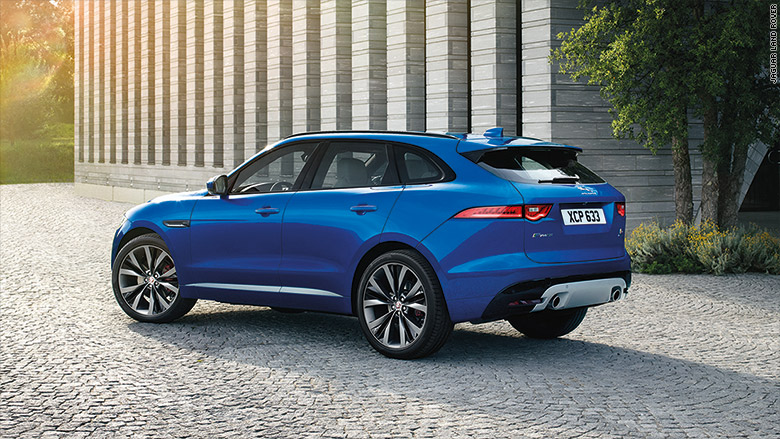 Jaguar Unveils Firstever SUV Sep - 4 cylinder jaguar