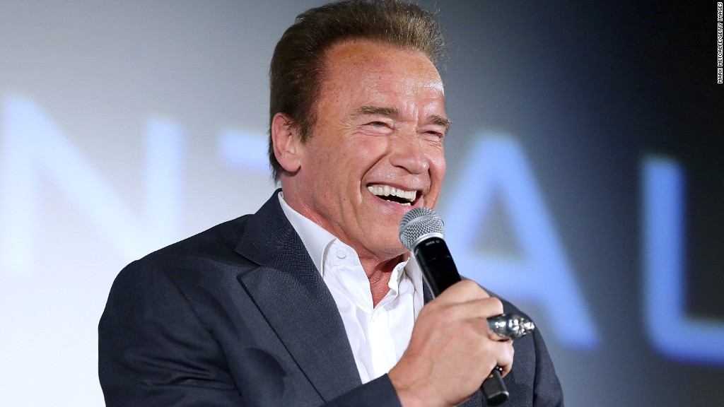 Schwarzenegger replacing Trump on 'Celebrity Apprentice'