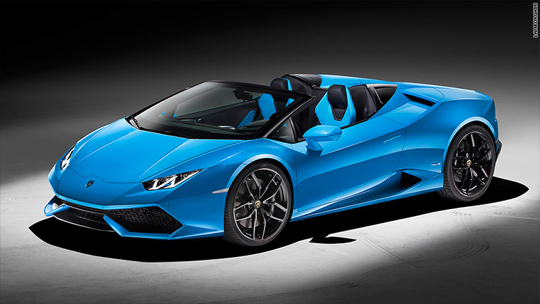 lamborghini reveals new convertible sep 14 2015. Black Bedroom Furniture Sets. Home Design Ideas