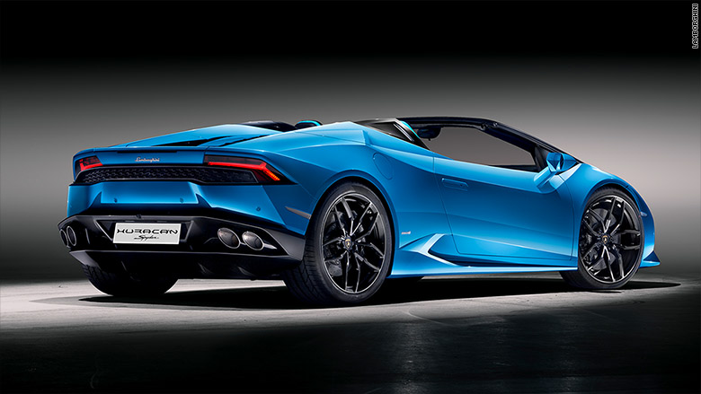 Lamborghini Reveals New Convertible