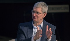 Tim Cook talks charity, coming out as gay on 'Late Show'