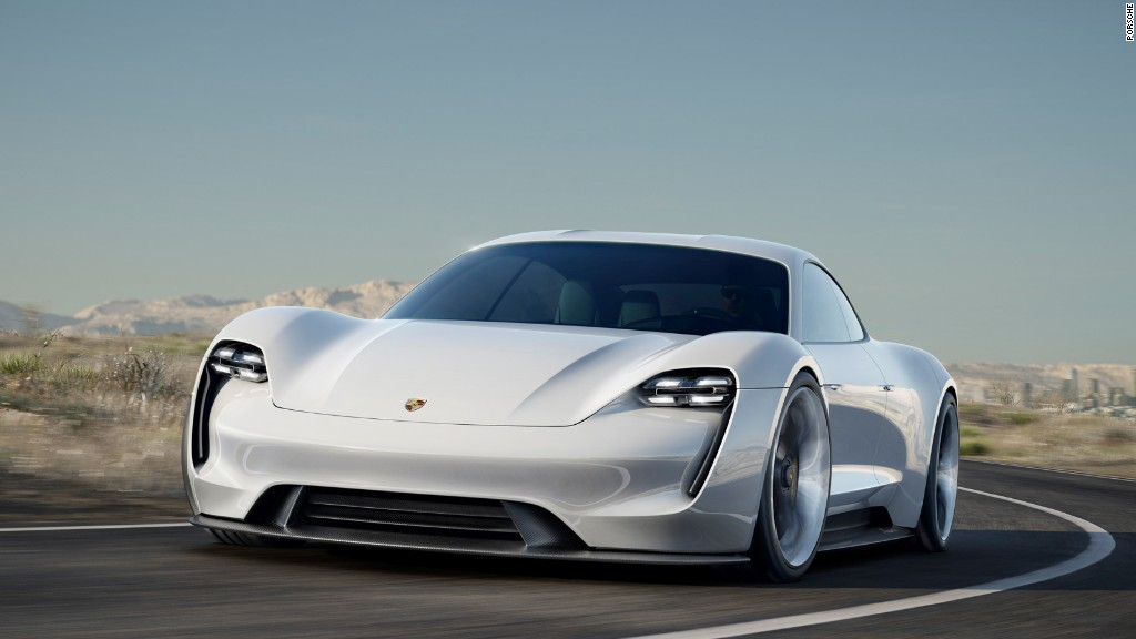 Porsche, Audi unveil electric concept cars