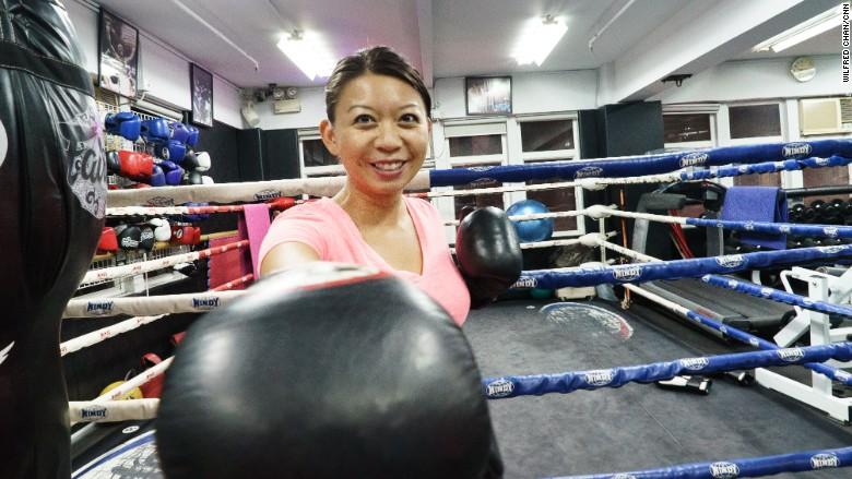sophia yan boxing 1