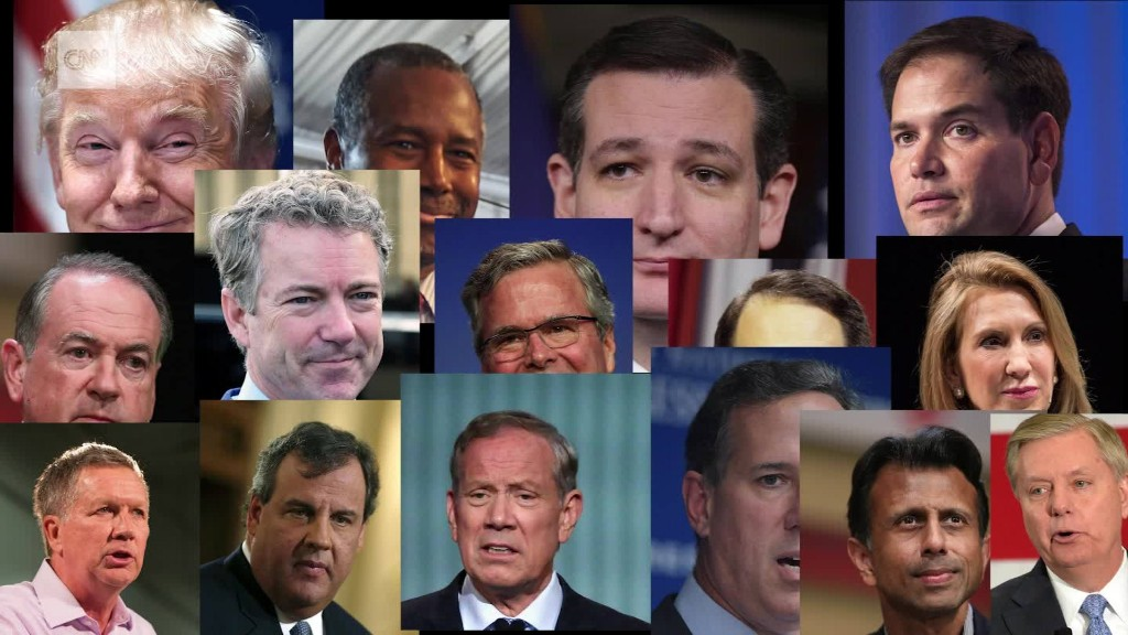 Which Republican candidates stand out on the economy?