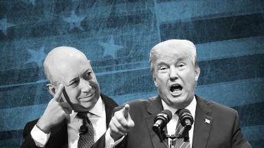 Goldman Sachs CEO warns of 'disruption' from Trump travel ban