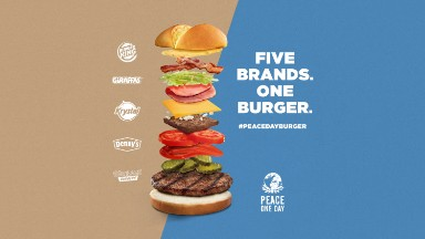 Burger King plans massive mashup burger for Peace Day