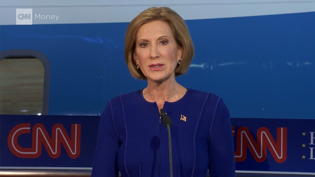 Fiorina says Steve Jobs had sympathy when she was fired
