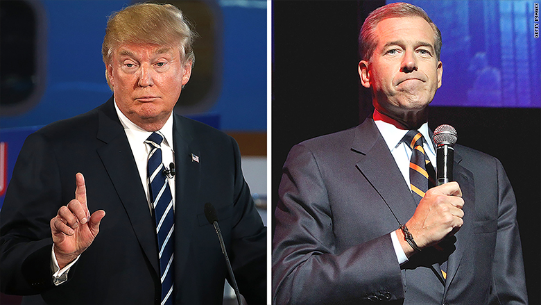 trump brian williams