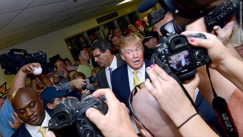 donald trump press access