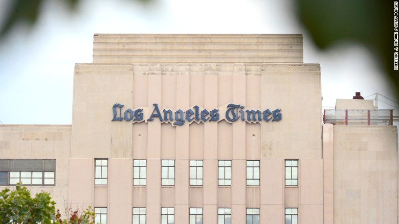 los angeles times jack griffin