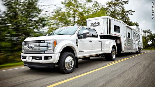 Ford reveals aluminum Super Duty truck